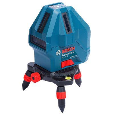 Máy cân mực Laser 5 tia Bosch GLL 5-50