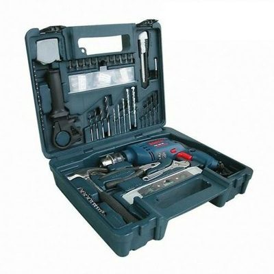 Bộ máy khoan Bosch GSB 550RE set (550W)